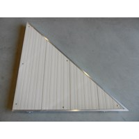 RIGHT TRIANGLE CORNER ALUM-BEIGE