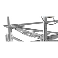 1-1/2 CANTILEVER ALUMINUM PONTOON BED