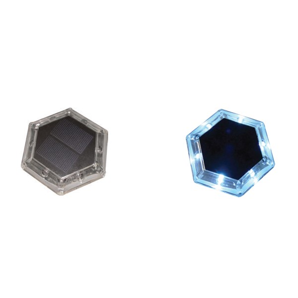 Hexagon Solar Dock Lights (2)