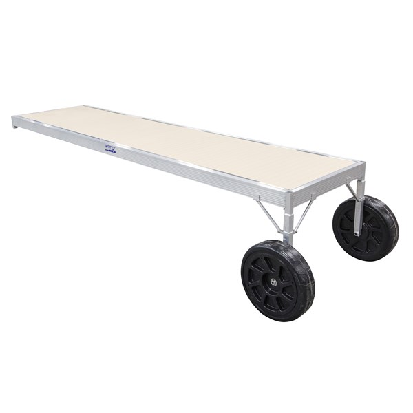 16' Classic Adjustable Aluminum-Beige With 4-1/2' Legs