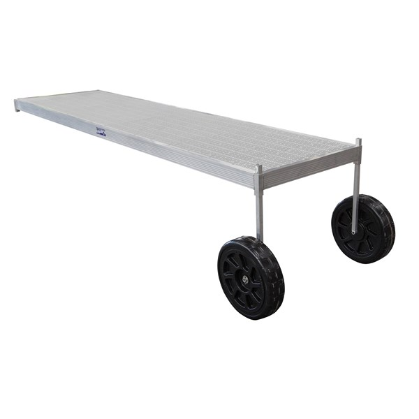 16' Classic Wheel Thruflow Gray With 5' Upright