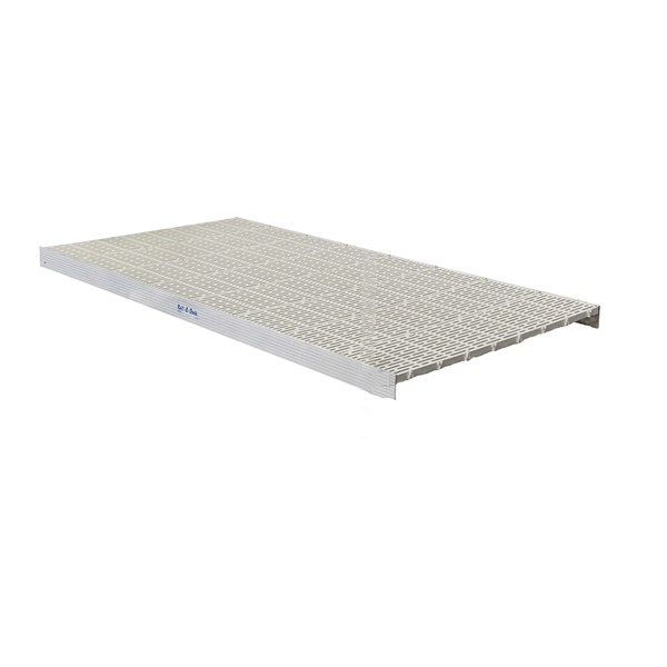 4'X8' Sectional Thruflow White (No Legs)