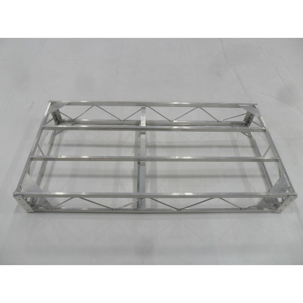 4'X8' Truss Floating Aluminum-No Deck (For Thruflow)