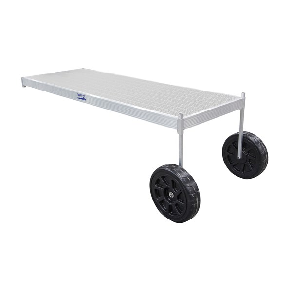 12' Classic Wheel Thruflow Gray With 3' Upright