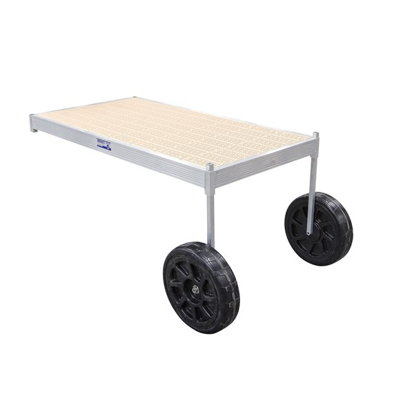 8' Classic Wheel Thruflow Beige With 3' Upright
