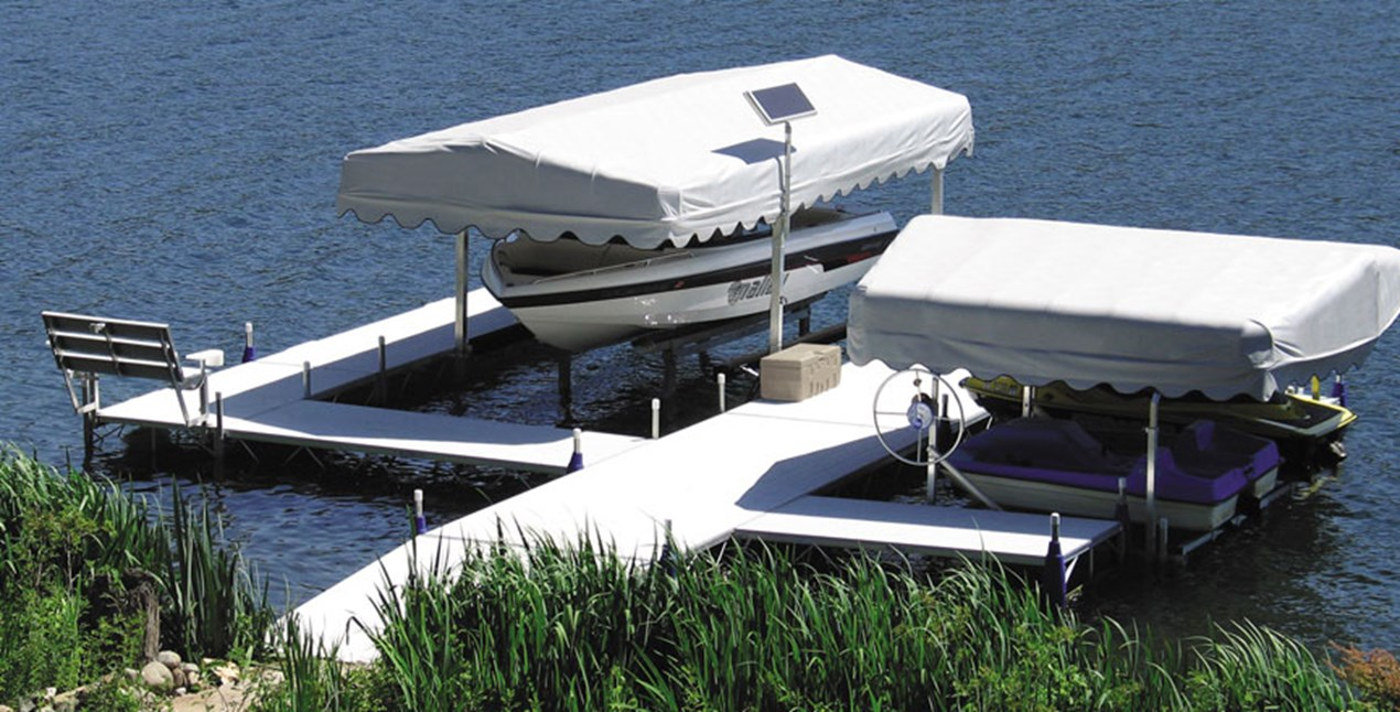 Roll-A-Dock configuration