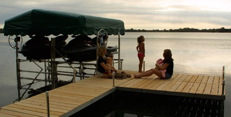 Vers-A-Dock with Family