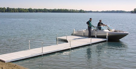 Vers-A-Dock With Boat