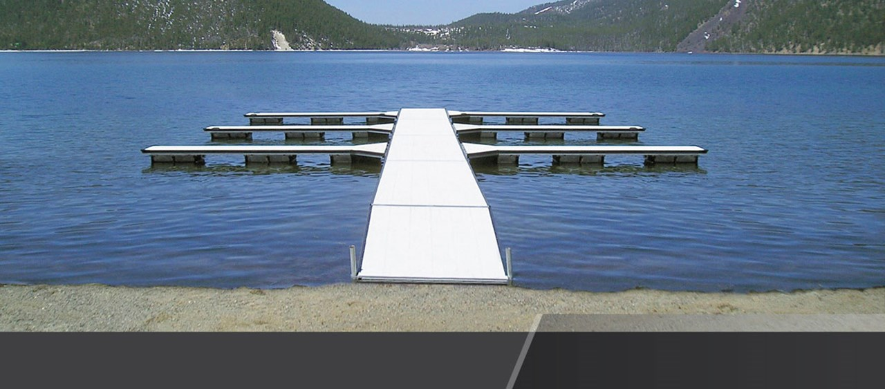 Aluminum Floating Dock Sections for residential and commercial purposes