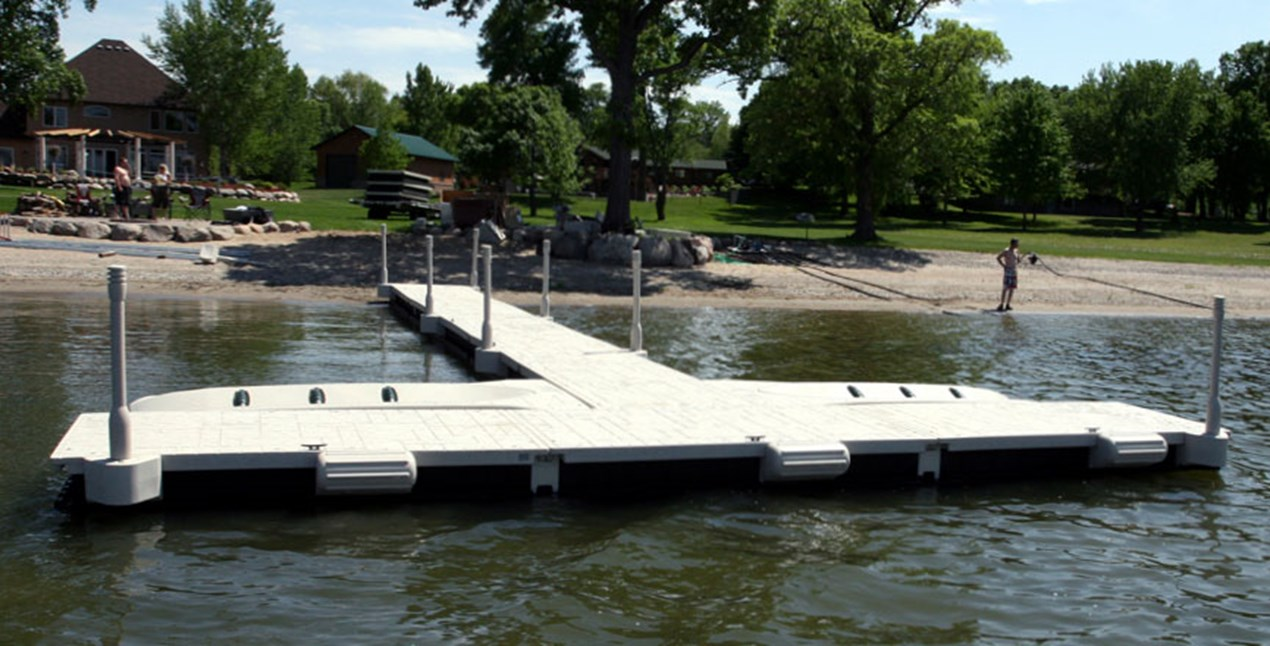 WaveDock with Bumpers