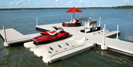 WaveDock With Jet Ski