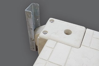 Port to Other Floating Dock Brands Hinge Attachment Kit