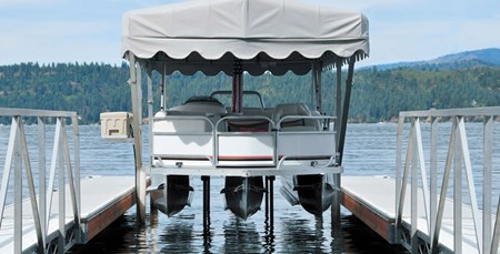 Hydraulic Pontoon Lift
