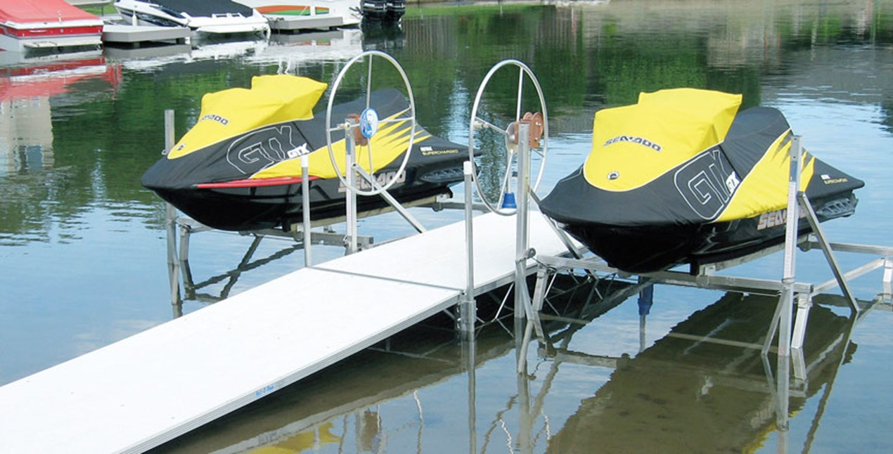 PWC Lift with Dock