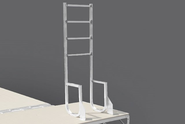 Tip-Up Ladder