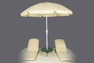 Otter Island Umbrella & Seat Cushions