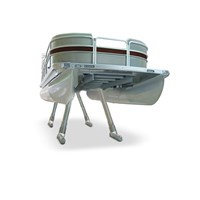 WIDE BASE PONTOON LEG-TWIN